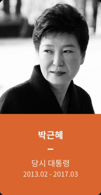 박근혜 당시 대통령
