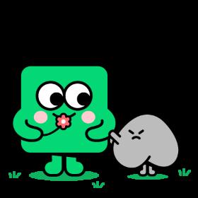 초록 미세먼지 아이콘